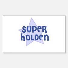 Super Holden Rectangle Decal