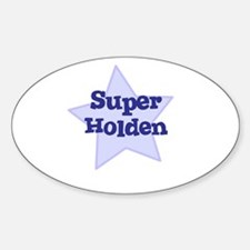 Super Holden Oval Decal