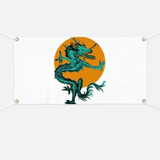 Midnight Moon Dragon Banner