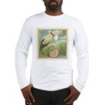 Baby Girl Birth Announcement Long Sleeve T-Shirt