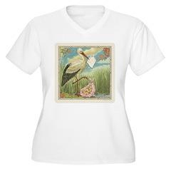 Baby Girl Announcement T-Shirt