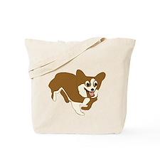 Cartoon Corgi Tote Bag