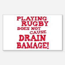Drain Bamage Rectangle Decal