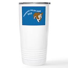 Corgi Dad Travel Coffee Mug
