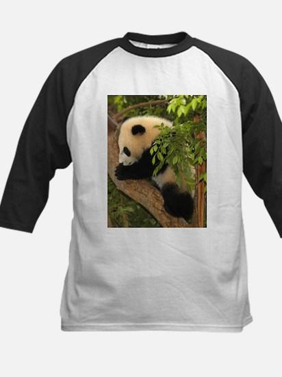 Giant Panda Baby 2 Kids Baseball Jersey