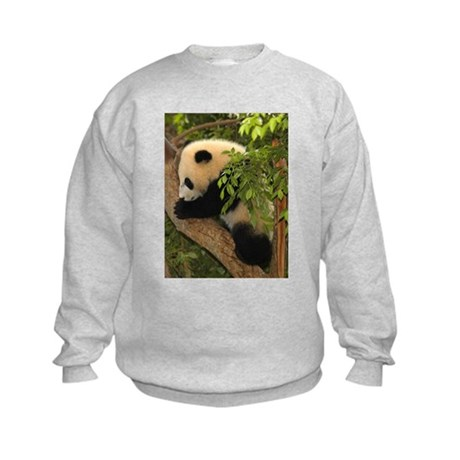Giant Panda Baby 2 Kids Sweatshirt
