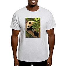 Giant Panda Baby 2 Ash Grey T-Shirt