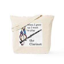 Clarinet Tote Bag