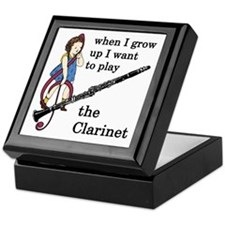 Clarinet Jewelry Box