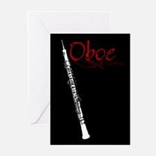 Oboe Greeting Cards (6)