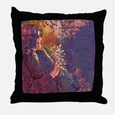 Oboe Lament Throw Pillow
