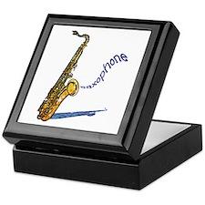 Saxophone Jewelry Box