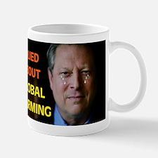 HE ADMITS HE LIED Mug