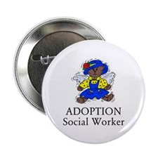 "Adoption SW Bear Angel 2.25"" Button"