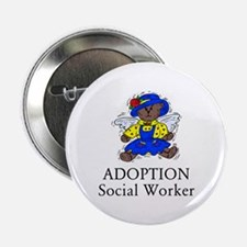 "Adoption SW Bear Angel 2.25"" Button"