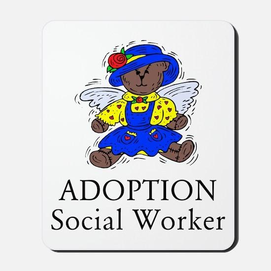 Adoption SW Bear Angel Mousepad