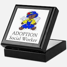 Adoption SW Bear Angel Keepsake Box