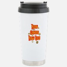 Real Gamers Roll Dice Travel Mug