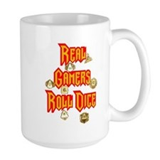 Real Gamers Roll Dice Mug