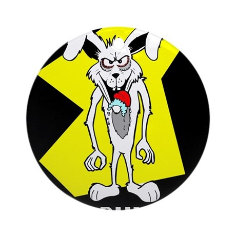 Bad Bunny Ornament (Round)