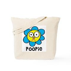 Poopie Flower Tote Bag