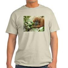 Orangutan 4 Ash Grey T-Shirt