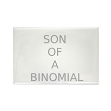 SON OF A BINOMIAL Rectangle Magnet (10 pack)