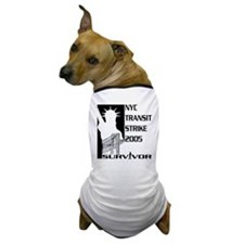 MTA - Transit Strike Bridge Dog T-Shirt