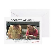 Goodbye Wendell Greeting Card