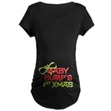 Baby Bump's 1st Xmas T-Shirt