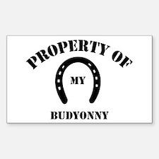 My Budyonny Rectangle Decal