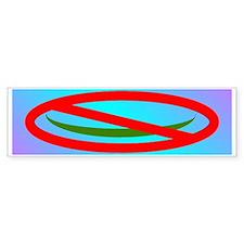 NO ISLAM! Bumper Sticker