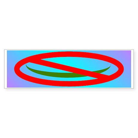 NO ISLAM! Sticker (Bumper)