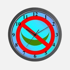 NO ISLAM! Wall Clock