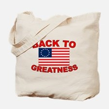 Back to Greatness Tote Bag