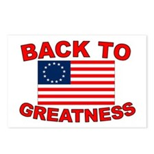 Back to Greatness Postcards (Package of 8)