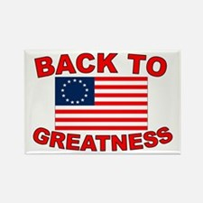 Back to Greatness Rectangle Magnet