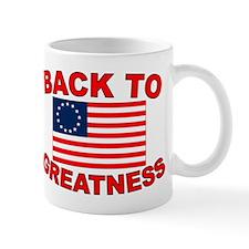 Back to Greatness Small Mug