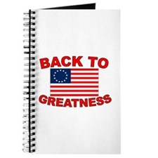 Back to Greatness Journal