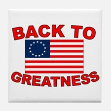 Back to Greatness Tile Coaster