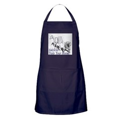 Be good to your Farrier Apron (dark)