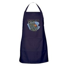 How I Roll (Roller Coaster) Apron (dark)