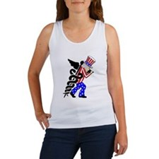 Med-Cross Women's Tank Top