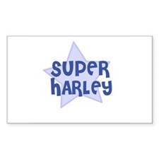 Super Harley Rectangle Decal