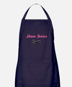 Jagged Edge Hair Salon Apron (dark)