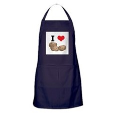 I Heart (Love) Potatoes Apron (dark)