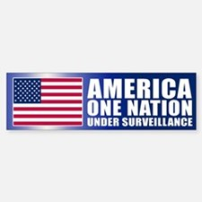 UNDER SURVEILLANCE Bumper Bumper Bumper Sticker