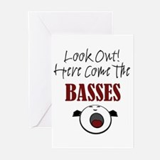 Bass Greeting Cards (Pk of 10)
