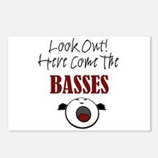 Bass Postcards (Package of 8)