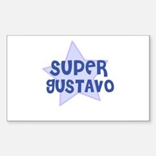 Super Gustavo Rectangle Decal